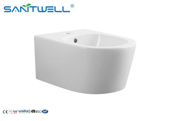 Materiale ceramico europeo SWT331 180mm di bianco 490*360*360mm del bidet che Roughing dentro