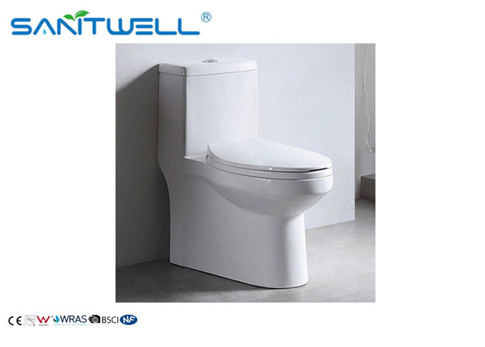 Ceramic Siphonic  WC SWS81511 , siphonic one piece toilet White Color