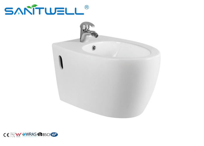 Women Wall Hung Bidet S Trap Ra<0.2um thickness>0.6mm ODM and OEM