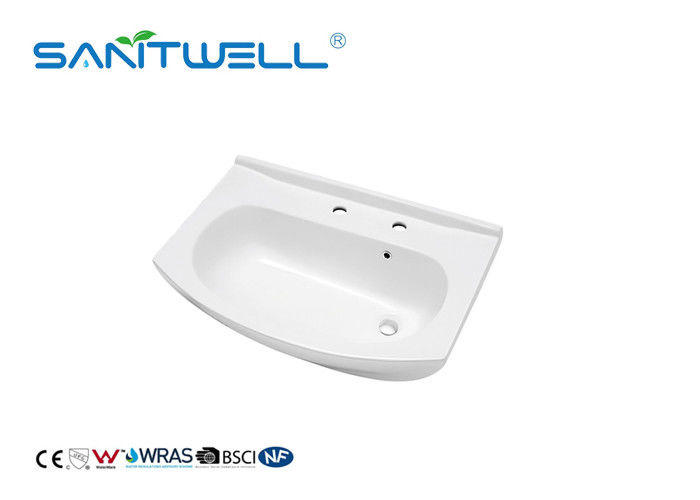 Ceramic Cabinet Sanitary Ware Basin For Bathroom Hand Wash Solid Surface
